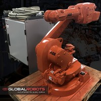 ABB IRB 1600 1.2/6kg With IRC5